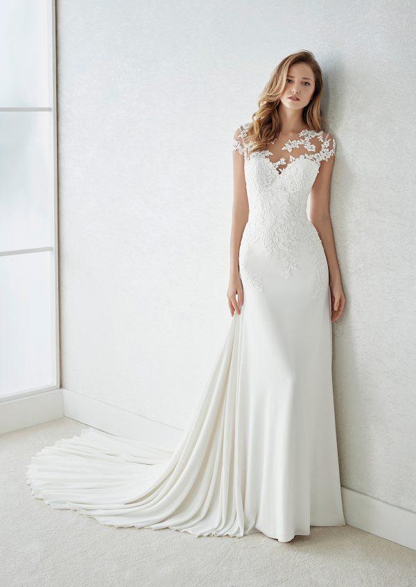 StPatrick WhiteOne Finlandia 1 600x846 - Short White Wedding Dresses
